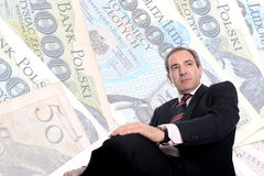 Wealthy Business man Stock Photos