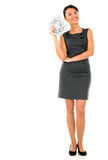 Wealthy business woman Royalty Free Stock Photo