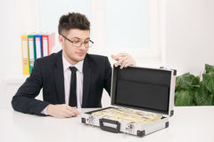 Wealthy businessman. Stock Photography
