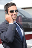 Wealthy businessman Stock Photography