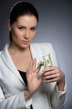Wealthy businesswoman. Stock Photography