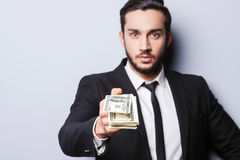 Wealthy handsome. Royalty Free Stock Images