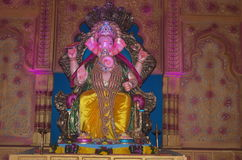Wealthy Indian Elephant god-Lord Ganesh-II Royalty Free Stock Photo