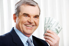 Wealthy man Stock Photos