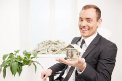 Wealthy man. Royalty Free Stock Images
