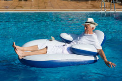 Wealthy man Royalty Free Stock Images