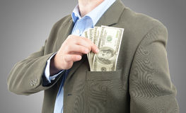 Wealthy man Stock Photography