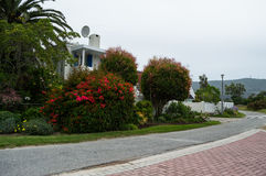 Wealthy Neighborhood in Knysna, Garden Route, South Africa Royalty Free Stock Photography