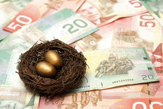 Wealthy Nest Egg Royalty Free Stock Image