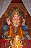 Wealthyl Indian Elephant god-Lord Ganesh Royalty Free Stock Photos