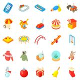 Wean icons set, cartoon style. Wean icons set. Cartoon set of 25 wean vector icons for web isolated on white background Stock Images
