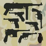 Weapon Royalty Free Stock Photo