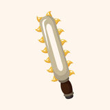 Weapon axe theme elements Stock Images