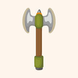 Weapon axe theme elements Royalty Free Stock Photography