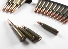 Weapon cartridge Royalty Free Stock Images