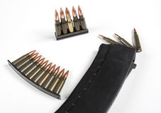 Weapon cartridge Royalty Free Stock Photography