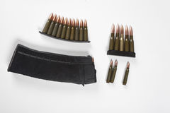 Weapon cartridge Royalty Free Stock Photos