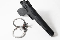 Weapon Crime Concept Gun Royalty Free Stock Photo
