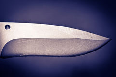 weapon of the crime-Knife blade Stock Photo