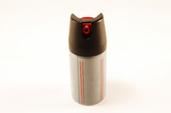 Weapon. Gas cartridge Royalty Free Stock Image