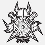 Weapon logo vector illustration