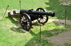 Weapon - old cannon Stock Photography