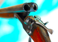Weapon, shotgun, hunting. Stock Photos