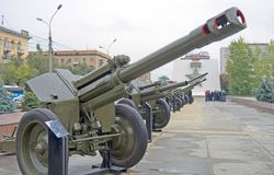 A weapon at Stalingrad battle war memorial Stock Images