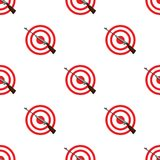 Weapon and target. Shooting gallery in an amusement park.Amusement park single icon in cartoon style vector symbol stock. Web illustration Stock Photo