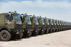 Weaponry and military equipment of the armed forces of Ukraine Royalty Free Stock Photo