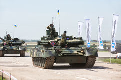 Weaponry and military equipment of the armed forces of Ukraine Royalty Free Stock Photos