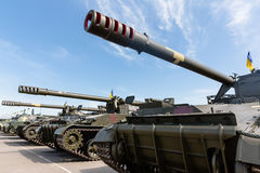 Weaponry and military equipment of the armed forces of Ukraine Royalty Free Stock Images