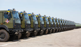 Weaponry and military equipment of the armed forces of Ukraine Royalty Free Stock Image