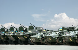 Weaponry and military equipment of armed forces of Ukraine Stock Photos