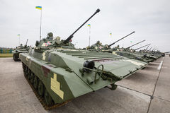Weaponry and military equipment of armed forces of Ukraine Stock Images