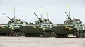 Weaponry and military equipment of armed forces of Ukraine Royalty Free Stock Image