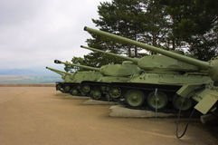 Weaponry on Sapun Hill. Crimea Stock Image