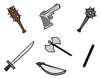 Weapons Royalty Free Stock Images