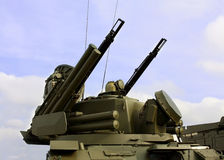 Weapons of anti-aircraft defense Stock Image