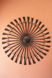 Weapons in City Palace museum, Jaipur, India Stock Image