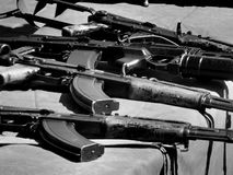 Weapons of the Great Patriotic War Royalty Free Stock Photo