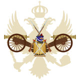 Weapons Imperial Russia in 1812 Stock Photography