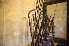 Weapons from middle ages Royalty Free Stock Photography