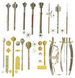 Weapons of the middle ages. Stock Images