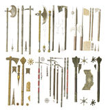 Weapons of the middle ages. Royalty Free Stock Photography