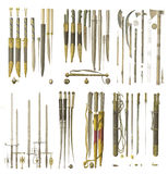 Weapons of the middle ages. Stock Image