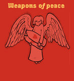 Weapons of peace Royalty Free Stock Image
