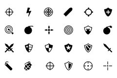Weapons Vector Icons 1 Royalty Free Stock Photos
