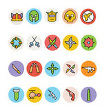 Weapons Vector Icons 3 Royalty Free Stock Photo