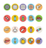 Weapons Vector Icons 2 Royalty Free Stock Image